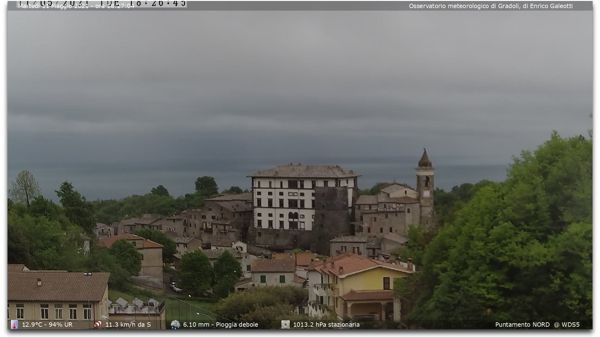 Webcam Gradoli VT - Lago di Bolsena&nbsp;Live webcamera